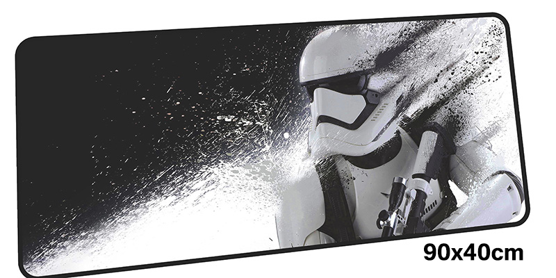 цена Star Wars mouse pad gamer 900x400mm notbook mouse mat gel large gaming mousepad Cartoon pad mouse PC desk padmouse accessories