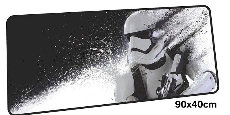 Star Wars tapis de souris gamer 900x400mm notbook tapis de souris gel grand jeu tapis de souris de Bande Dessinée tapis de souris PC bureau padmouse accessoires