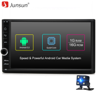 Junsun Quad Core 7 2 Din Android 6 0 Car DVD Radio Multimedia Player 1024 600