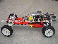 Бесплатная доставка газе rc удаленным автомобиля, 30.5cc двигателя Baja ss