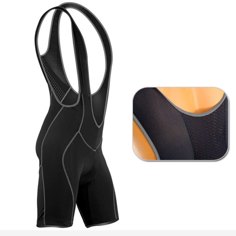 WOSAWE Men Cycling Bib Shorts Triathlon Ironman Gel Pad Tri Suit Bicycle  One piece Sleeveless Summer Jumpsuits pants Quick Dry-in Cycling Bib Shorts  from ... 4c8bcf74d