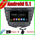 7'' Quad Core Android 5.1 Car Radio GPS For Hyundai Veloster With Video DVD Stereo Mirror Link 16GB FLash Free Shipping