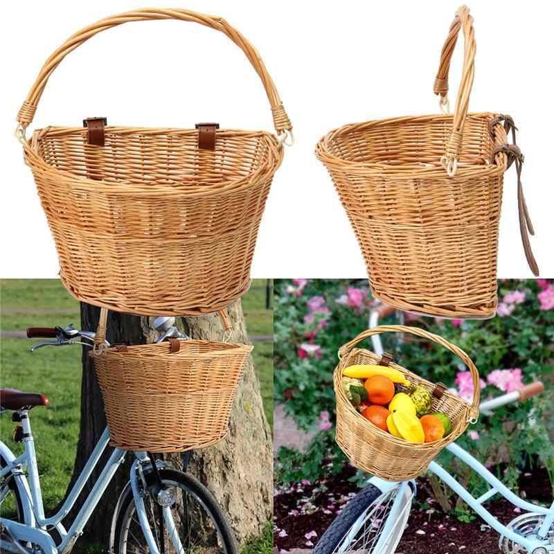 Neuheiten Fahrrad Korb Radfahren Stahl Weiß für City Bike Outdoor ...