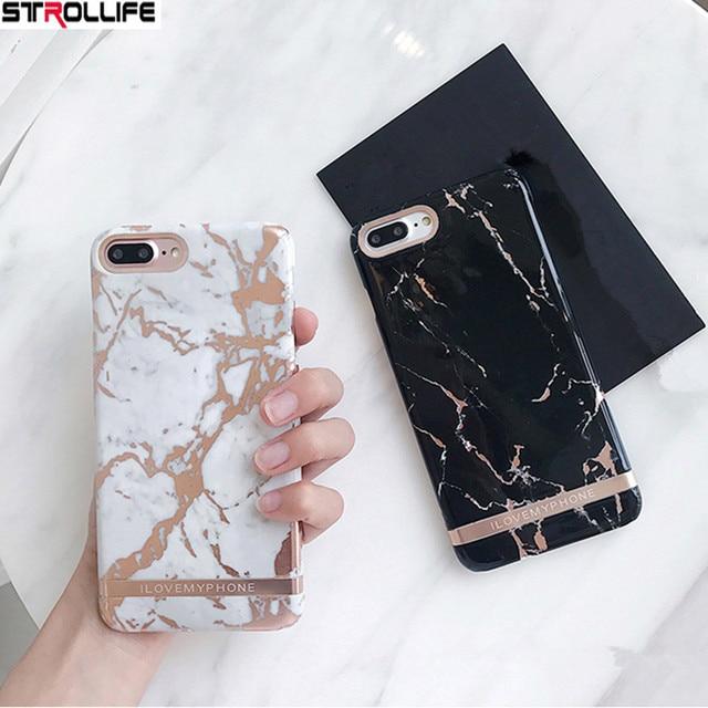 iphone 8 plus marble case hard