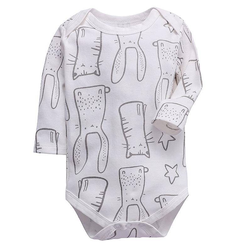 Newborn Bodysuit Baby Boys Girls Clothing Long Sleeve 3 6 9 12 18 24 Months Toddler Infant Child Kids Clothes