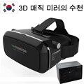 Новая Горячая VR VR SHINECON Google Картон Виртуальная Реальность 3D Очки 3D Кино Игры Очки Для 4.7 ~ 6 дюймов Смартфон