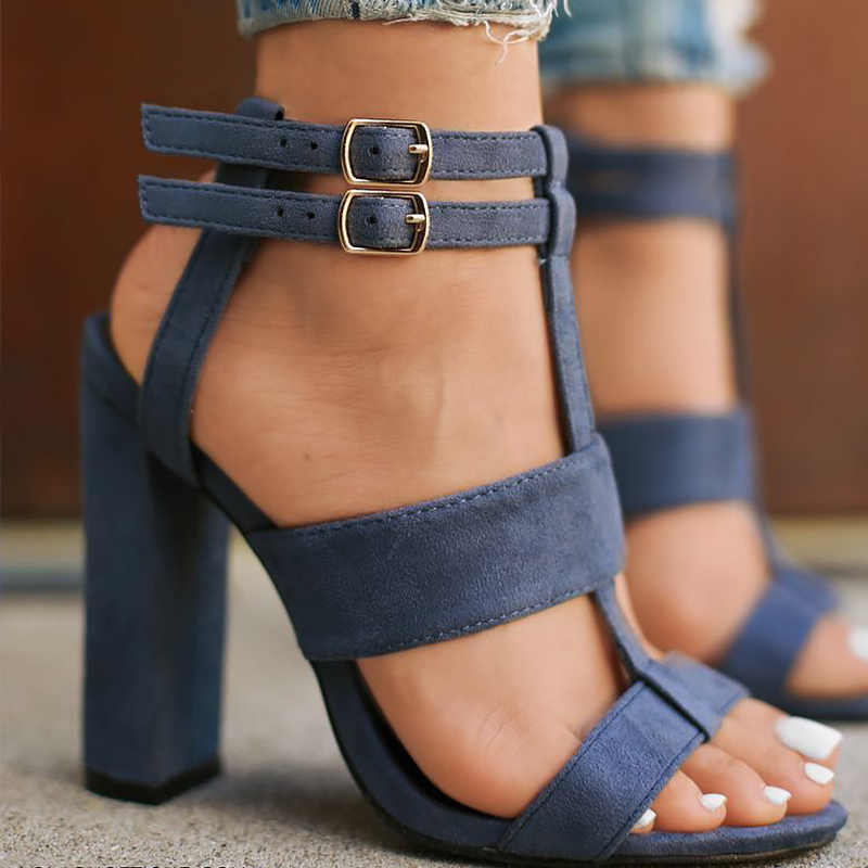 Большие размеры 35-42 Босоножки с кистью гладиаторы на высоком каблуке Женская  обувь Модные дизайнеры d3961e36e5084
