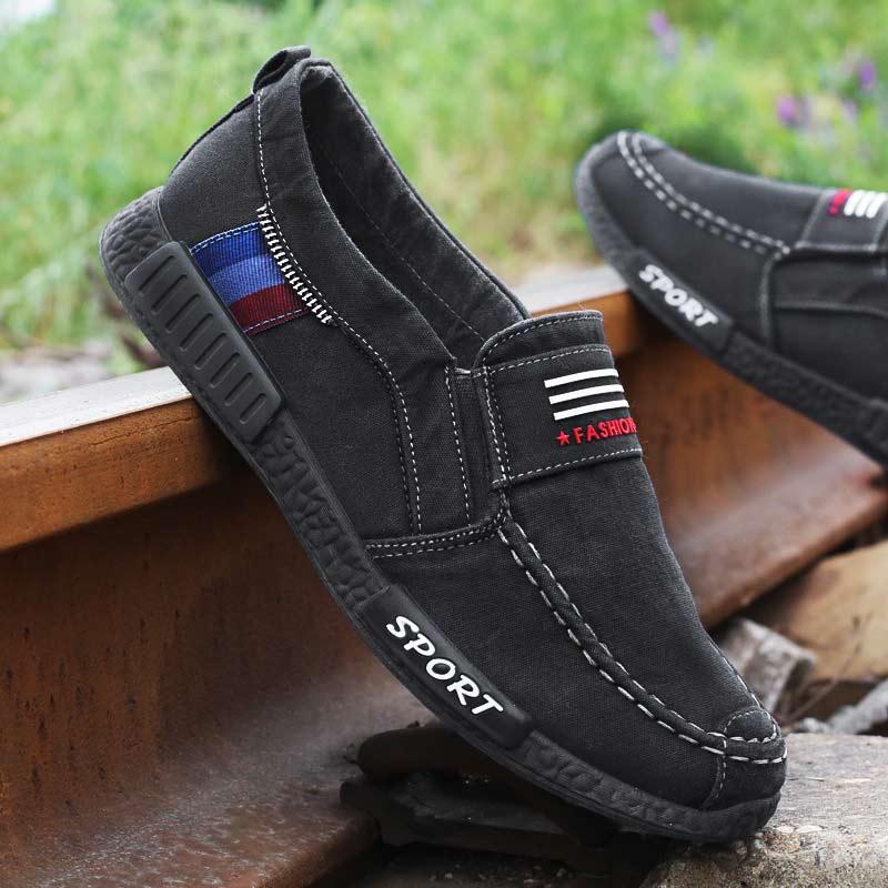 231 black slip on