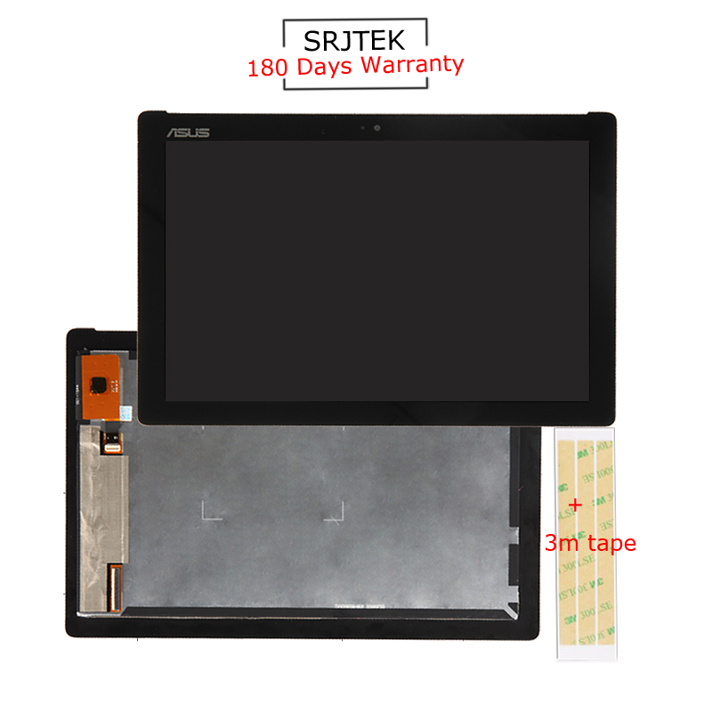 Srjtek 10.1'' inch for ASUS Zenpad 10 Z300 Z300M LCD Display Tablet Touch Screen panel Digitizer Yellow Cable диск replay h73 6 5хr17 5х114 3 et50 d64 1 gmf