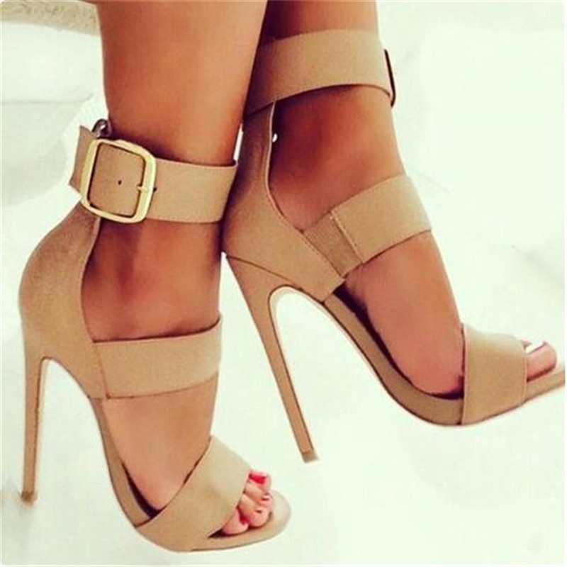 Online Get Cheap Nude Strap Heels -Aliexpress.com  Alibaba Group