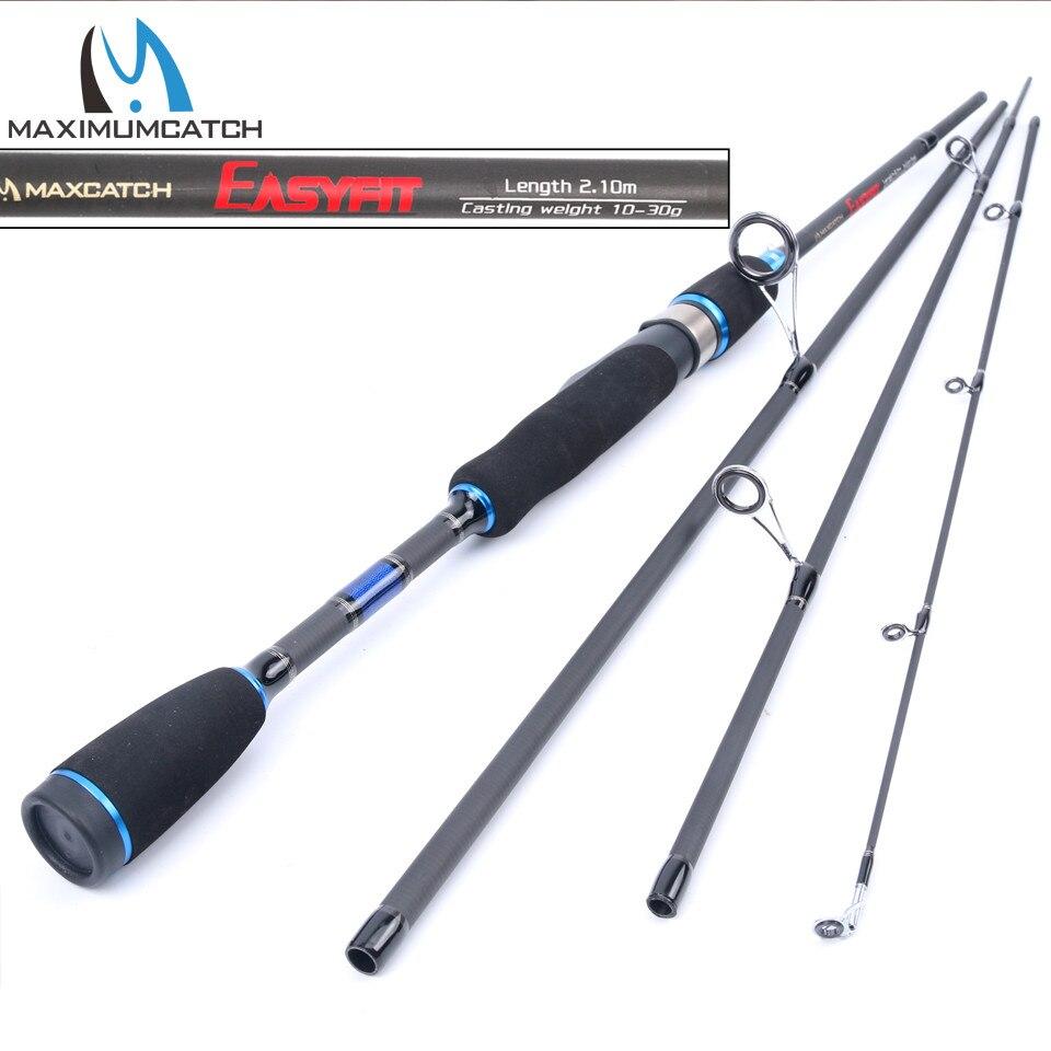 Maximumcatch 2.0 m-2.7 m 4 PZ Attirare Peso 5-15g/10-30g/15-40g/20-50g Canna Da Pesca Spinning Per Fishing lure