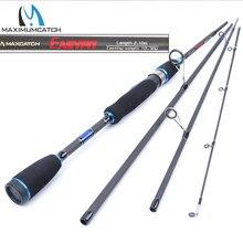 Maximumcatch 2.0 m 2.7 m 4 peças isca peso 5 15g/10 30g/15 40g/20 50g fiação vara de pesca para haste de ação rápida