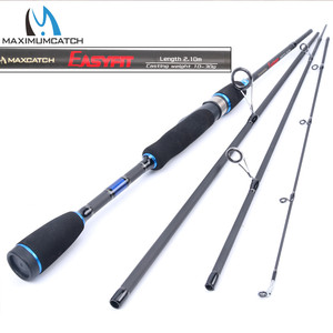 Image 1 - Maximumcatch 2.0m 2.7m 4PCS Lure Weight 5 15g/10 30g/15 40g/20 50g Spinning Fishing Rod For Fast Action Rod