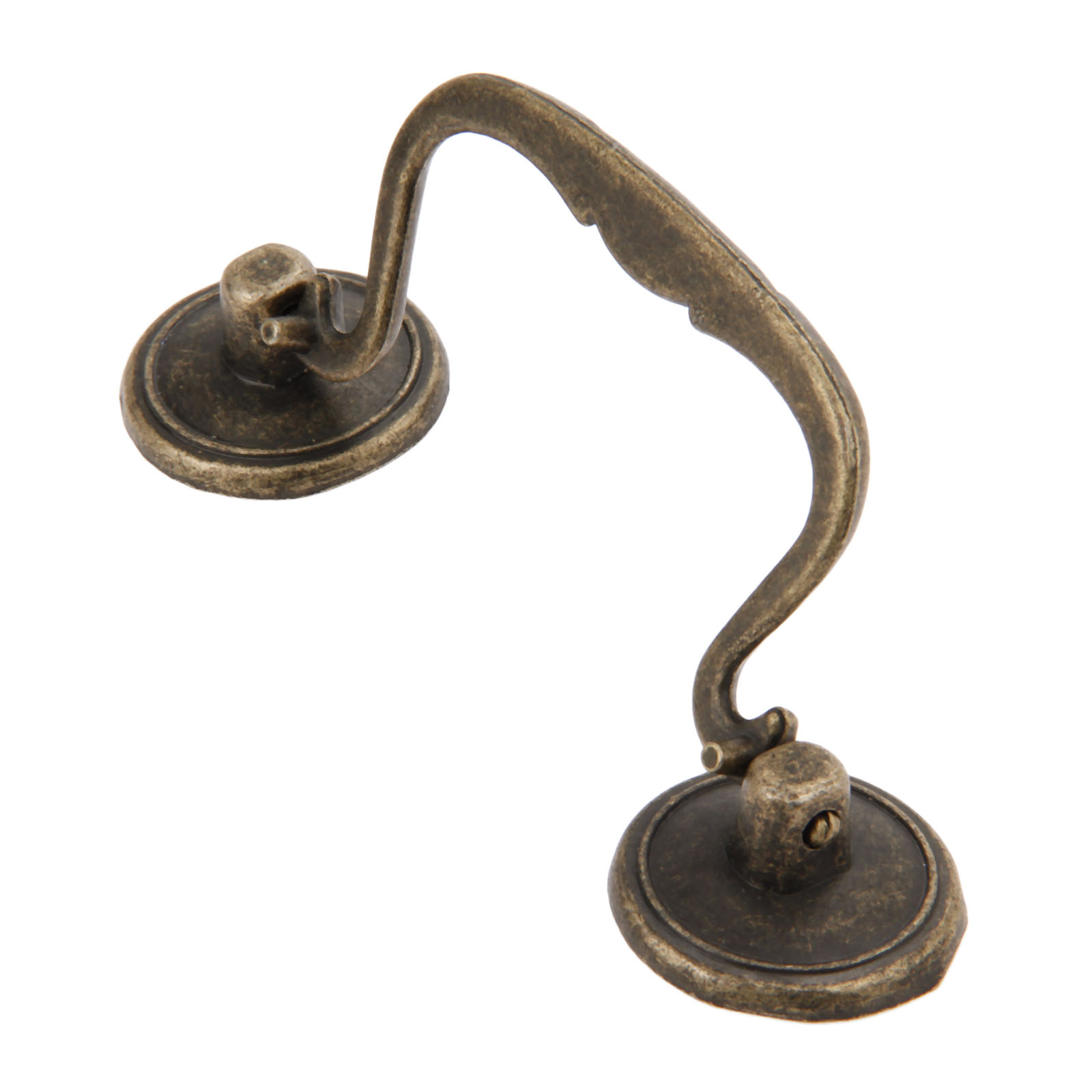 1PC 114x34mm Antique Bronze Furniture Handles Cabinet Knobs and Drawer Door Cupboard Pull Handle Kitchen Knob Furniture Fittings in Cabinet Pulls from Home Improvement