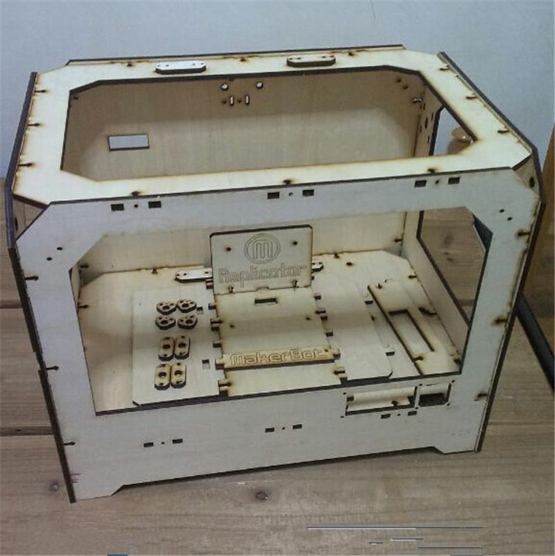 aliexpresscom buy diy 3d printer replicator frame laser cut frame kitset for diy 3d printer wooden frame in 6mm thickness from reliable frame glasses