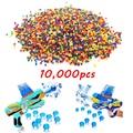 10000 UNIDS Muchos Colores Suaves de Agua Cristalina Paintball Bala Orbeez Accesorios Pisol Absorbente Aire Pistola De Agua Pistola de Juguete Niños
