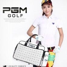 Новая сумка для гольфа PGM стильная сумка для одежды водонепроницаемая сумка из искусственной кожи Большая вместительная независимая сумка для обуви