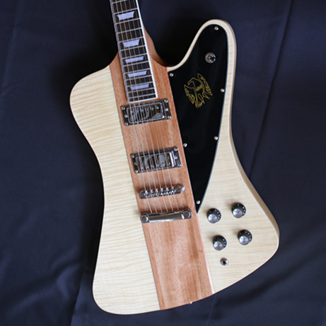 Tiger striped in log color electric electric guitar ,custom shop free shipping