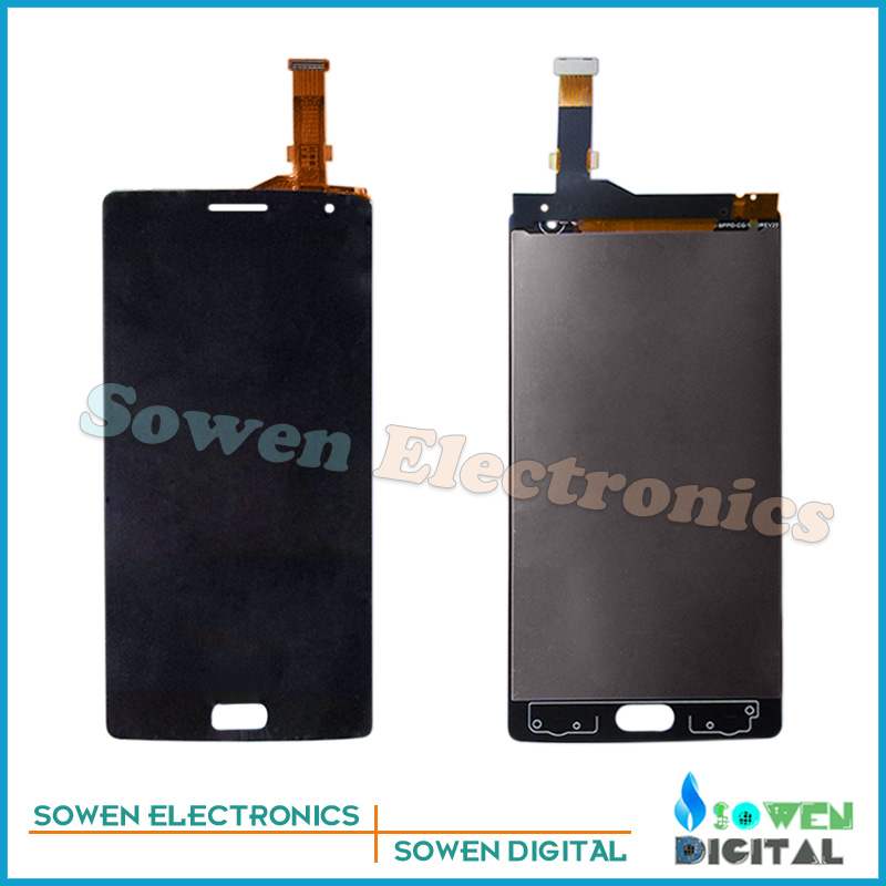 ФОТО for One plus OnePlus 2 LCD display Screen with Touch Screen digitizer assembly full sets ,  new