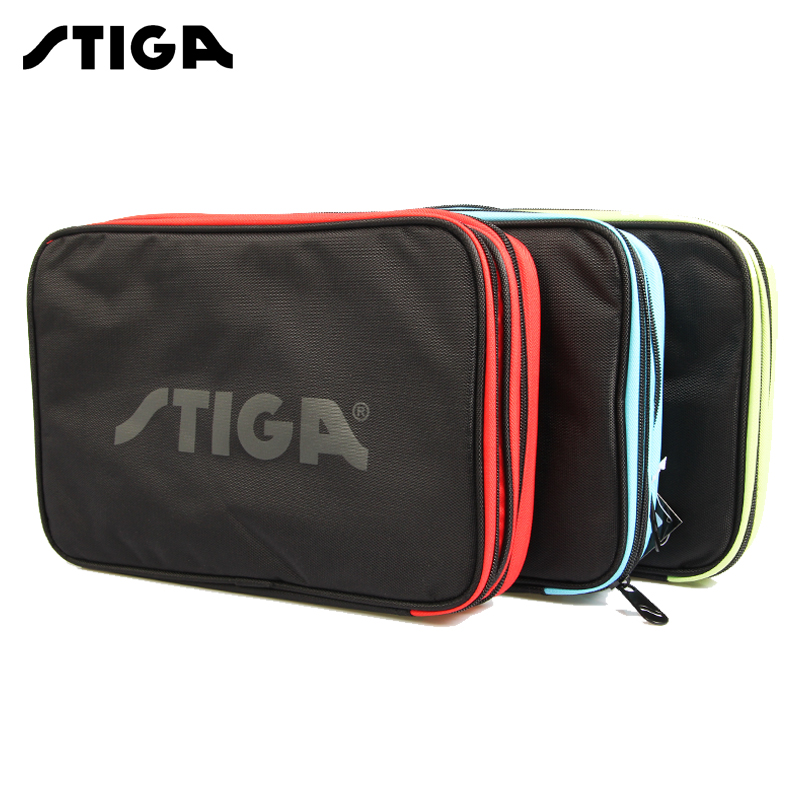 Genuine Stiga Table Tennis Racket Cover Sport Bag Ping Pong Bat Racquet  Sports