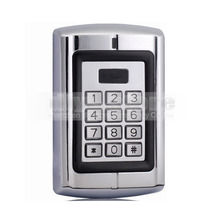 DIYSECUR Door Access Control RFID ID Card Reader Metal Case Keypad Security System Kit For House Office BC2000