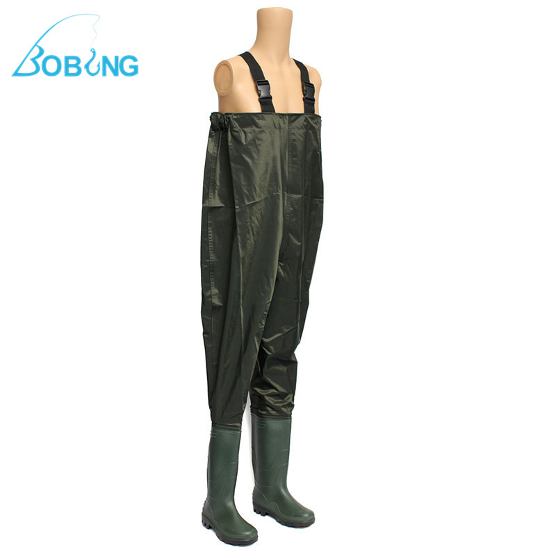Fishing Chest Waders Sizes 6 - 12 Nylon Waterproof Fly Coarse Fishing Farming UK Fishing Tools Accessories