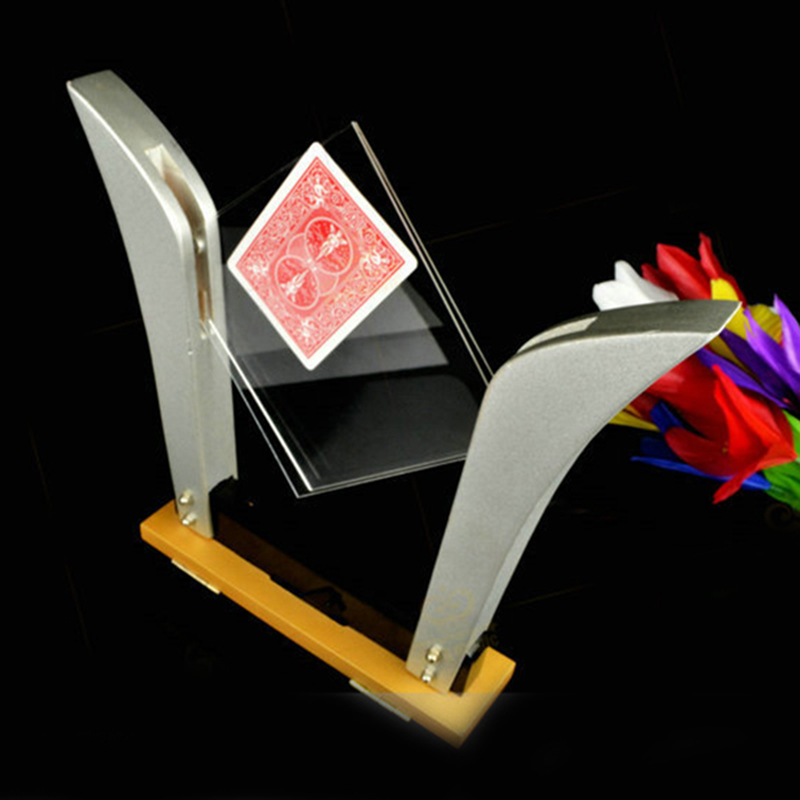 ФОТО TV Card Frame Deluxe Card into Glass Magic tricks,accessories,stage,gimmick,comedy,illusion 81298