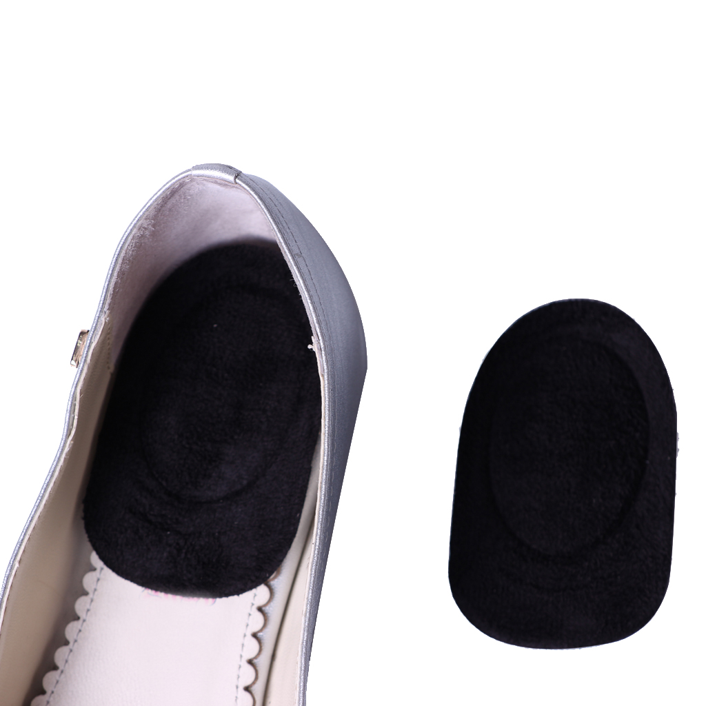 1 Pair Heel Support Pad Cup Fast Heel Pain Relief Heel Support Insoles Plantar FascIItis Cushion Gel Pad Cup