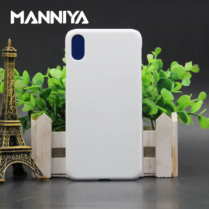 MANNIYA 3D Sublimation Blank white Phone Cases for iphone XS Max Free Shipping 100pcs lot