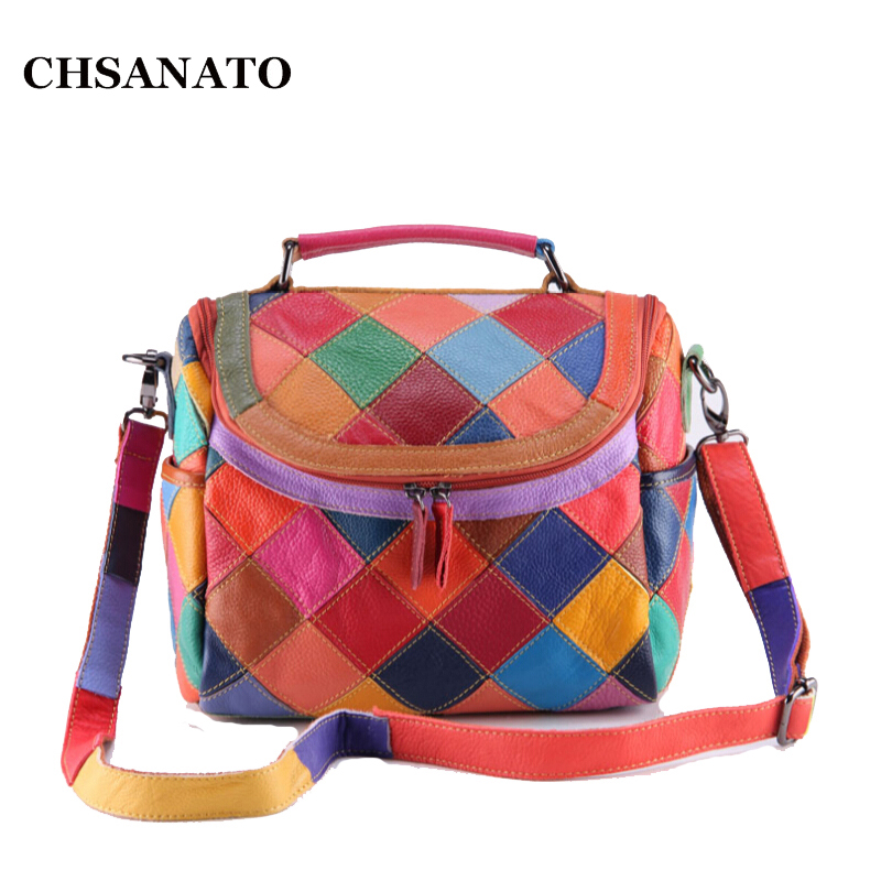 New 2017 Hot High Quality Women's Shoulder Bags Brand Designer Genuine Leather Small Handbags Women Messenger Bags W895