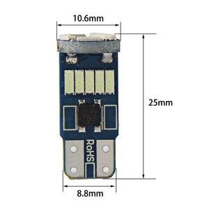 Image 5 - 10 ピース W5W SMD 車 T10 LED 194 168 ウェッジインパネランプ白クリスタルブルー読書クリアランス電球車のライトのため