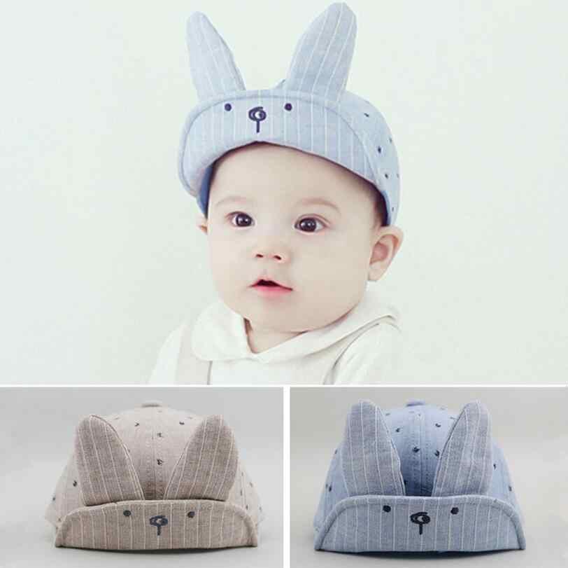 1 Piece Rabbit ear Infant Sun Cap Summer Outdoor Baby Boys Girls Hats Sun  Beach Cute a316de79f4b8