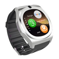 Nueva Llegada Elegante reloj Q98 construir-en WIFI GPS reloj MTK6580 4 GB + 512 M teléfono inteligente reloj bluetooth cámara android 5.1 para hombre