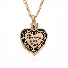 Always In My Heart Paw Necklaces