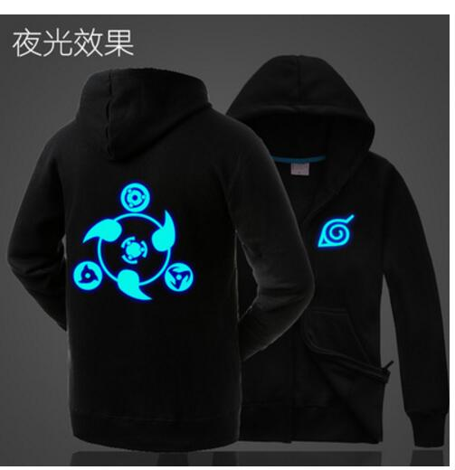 font b Naruto b font kakashi iron man tokyo ghoul the flash man Luminous Black