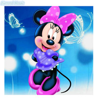 Diamond Mosaic Diamond Painting Cross Stitch Room Decoration Diamond Embroidery Cartoon Mickey Mouse Pictures Children Gift