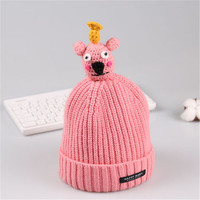 Baby Winter Hat 7 Colors Toddlers Cool Baby Boy Girl Infant Winter Pilot Warm Kids Cap