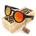 BOBO BIRD New Luxury Men's Wood Sunglasses Polarized Wooden Sunglasses for Men and Women Sunglasses with Wooden Gifts Box 2017