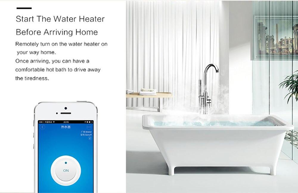 Купить с кэшбэком Sonoff S26 WiFi Smart Socket CN/US/EU/UK/AU Wireless Plug Power Socket Smart Home Switch Works With Alexa Google Assistant IFTTT