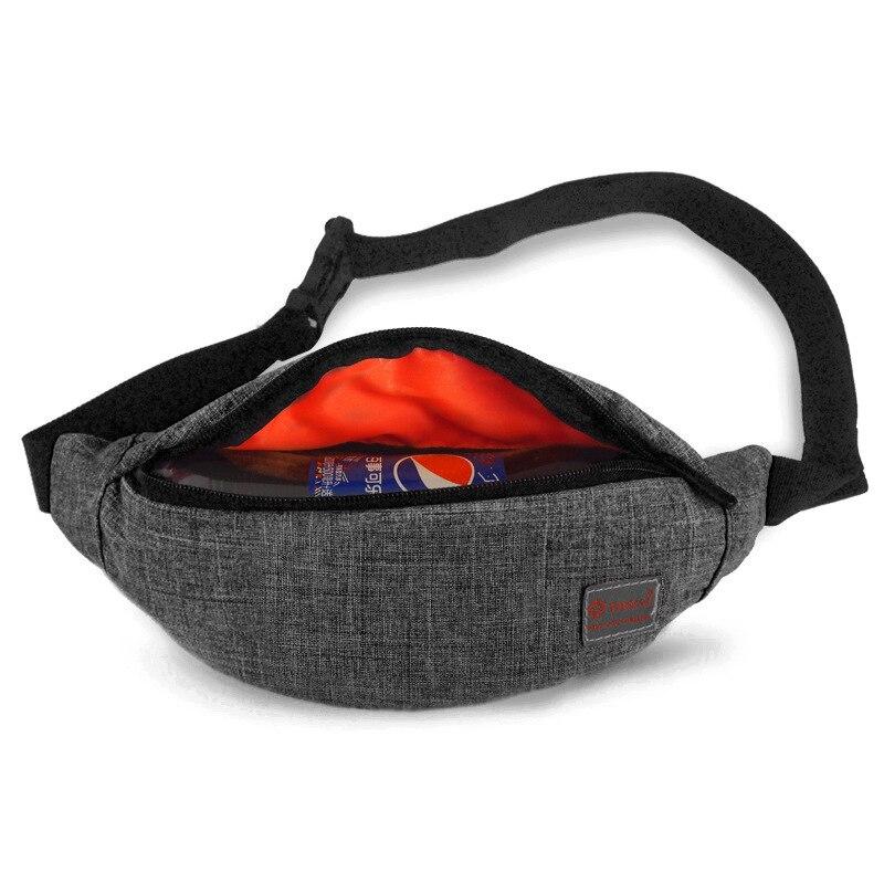 Casual Waist Bag Women Men Fanny Pack Money Phone Belt Bag Pouch 8 Colors Bum Bag Waist Packs Banana Shoulder Bags Male Heuptas