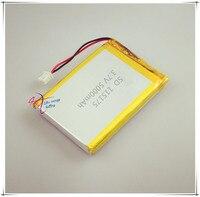 XHR-2P 2.54 5000 mAh 3.7 V 115175 batería de polímero de núcleo puesto de suministro de energía de reserva portable de la lámpara