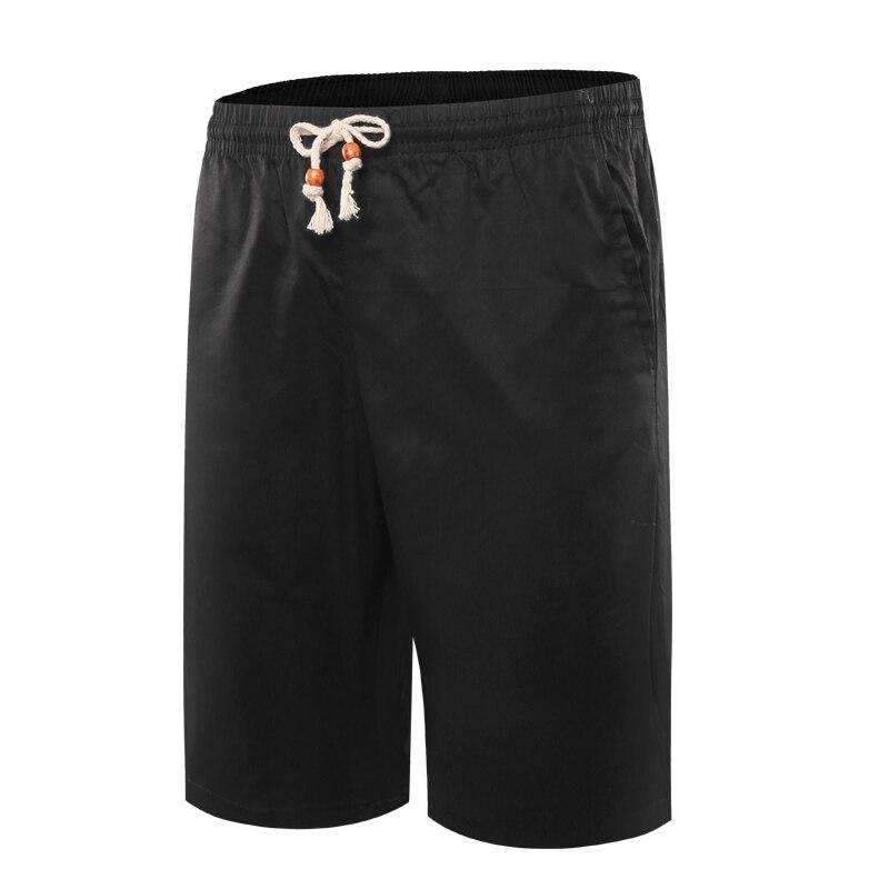 Summer Men's Casual Shorts Loose Fashionable Breeches Solid Color Short Pants Plus Size L-4xl