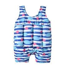 Новейший модный взрывной детский купальный костюм унисекс, безопасный плавучий поплавок с принтом животных, купальник для маленьких детей, для мальчиков и девочек