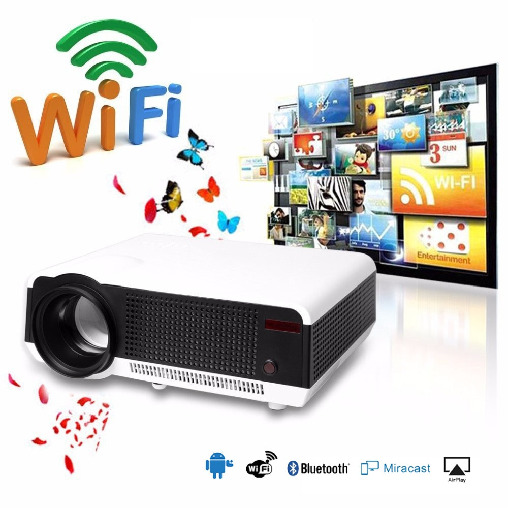5500 Lumens Smart Lcd Tv Led Projector Full Hd Support: Aliexpress.com : Buy 2018 Newest Full HD Projector 5500
