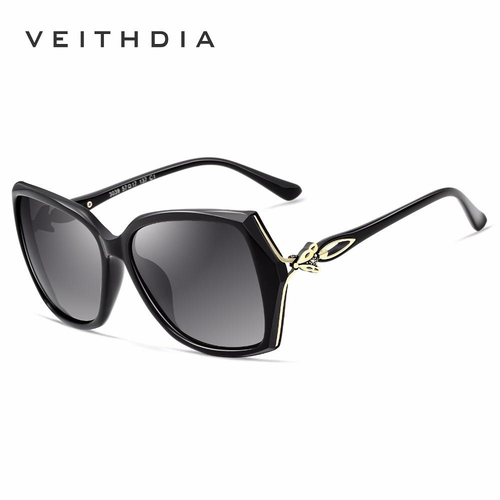 def343b77 VEITHDIA Retro Womens Sun glasses Polarized Luxury Ladies Brand Designer Sunglasses  Eyewear For Women Female V3039