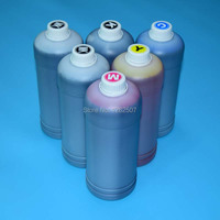 500ml 6Colors Dye And Pigment Ink For Canon PFI 102 104 IPF500 IPF510 IPF600 IPF605 IPF700