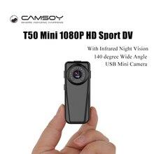Best price T50 Mini Full HD 1080P Camera Infrared Night Vision Kamera Wide Angle Digital Voice Video Recorder DV DVR Camera Micro Webcam