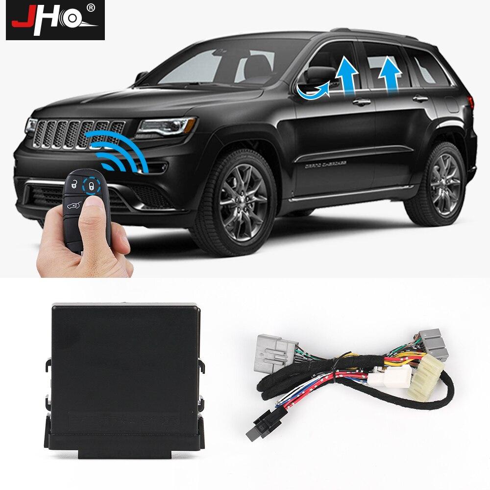 JHO Automatico 4 Porte Finestra di Potere Più Vicino Modulo Kit Per 2014-2018 Jeep Grand Cherokee Limitata 2015 2016 2017 Accessori