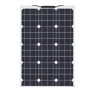 Image 4 - 柔軟なソーラーパネル30ワット/40ワット/60ワット/100ワット12v/16v/18 12v太陽エネルギー携帯モジュールバッテリー充電器パネル車/トラック/オートバイ