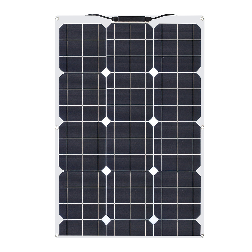 30W/40w/60W/80W/100W 12V/16V/18V Solar Energy cell Flexible Solar Panel Module Battery Charger Panels for Car/Truck/Motorcycle